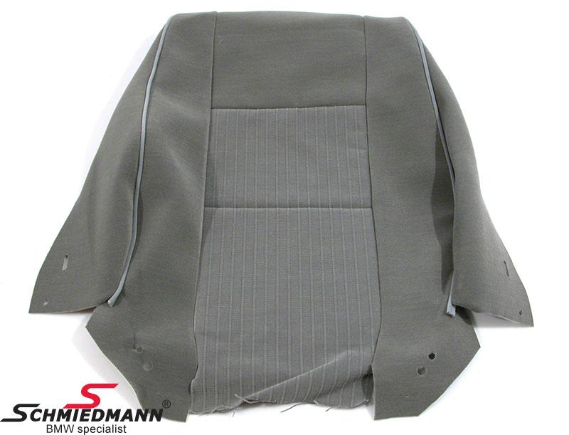 """Sædebetræk ryg standard sæde H+V.-side farve D3TT grau Stoff Flock """"Streifen"""""""