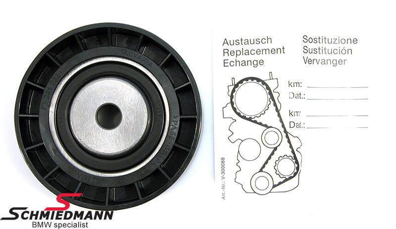 Løpehjul D=70MM vannpumpe/dynamo reim