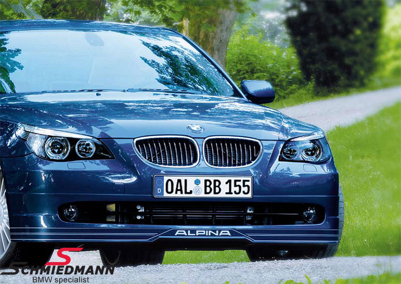 BMW E Frontspoiler Lips Swords Schmiedmann New Parts - Alpina bmw parts