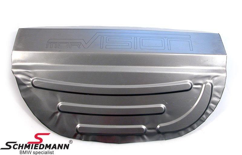 Reservhjuls box modifikation platta till original M3 avgassystem