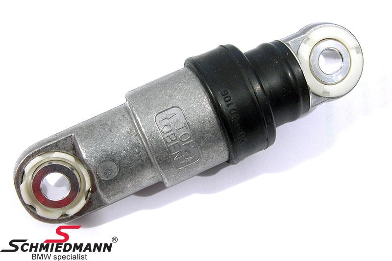 Belt tensioner without wheel waterpump/alternator
