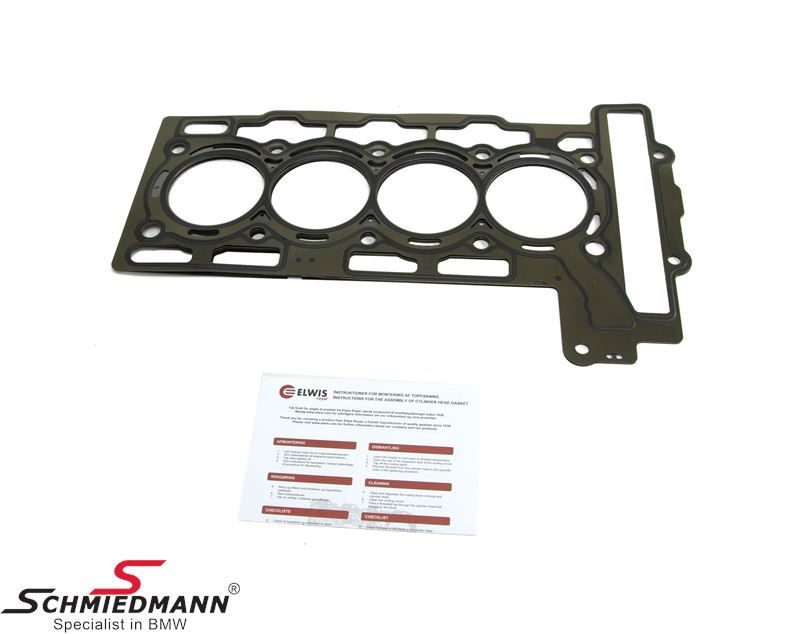 Cylinder head gasket 1,20MM (+0,3) oversize