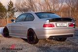 SCM5446R276  BMW E46 Schmiedmann Edelstahl Sportendschalldämpfer 2XØ76MM (Endrohr Design austauchbar)