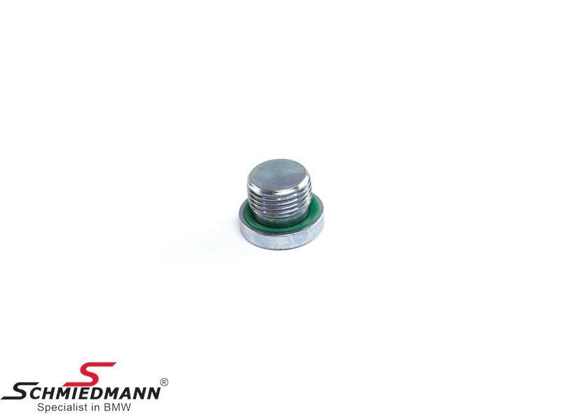 Screw plug with gasket ring M18X1,5