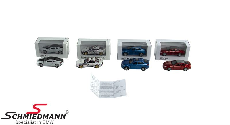 BMW miniature funcar size 1:41 -Pull back-(draw it back and it will move forward)