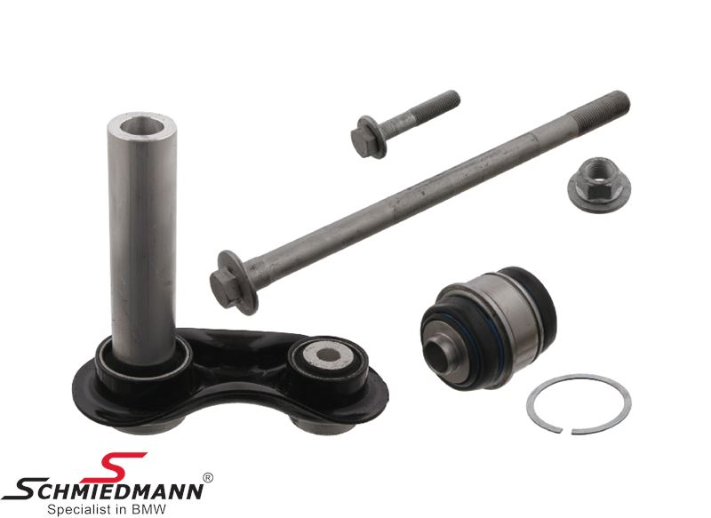 Integral link rear incl. bushing, bolts and nut - original SWAG Germany