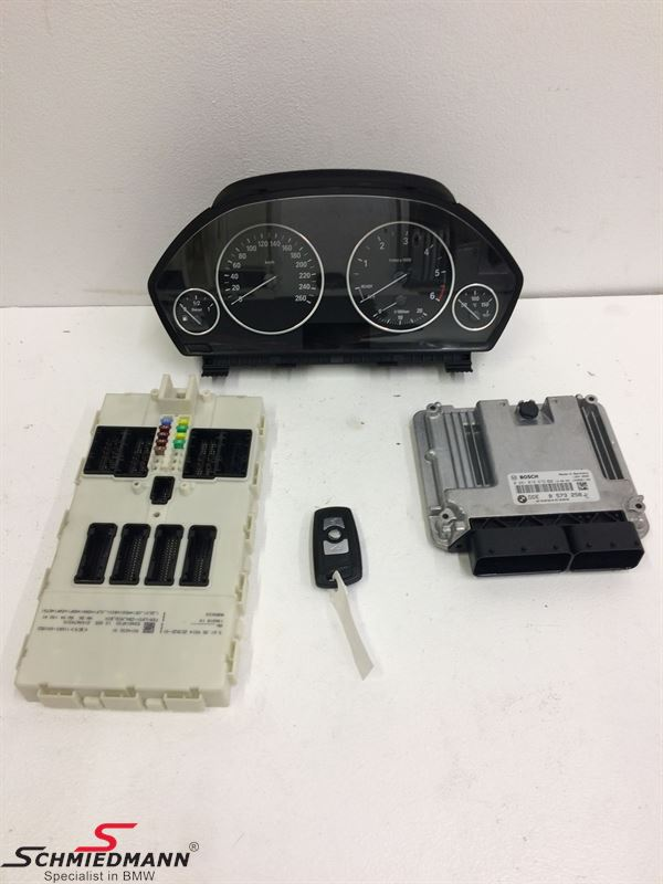 Control Unit Injection 318d With Cluster Key Fem Module K04541