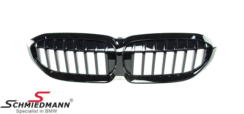 Kidneys high gloss Shadow-line black (For models without ///M-package)