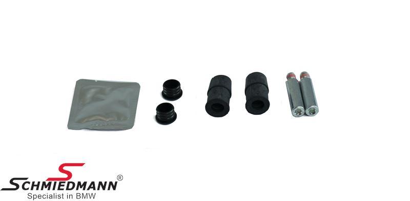 Guiding bolt repair kit for brake calipers