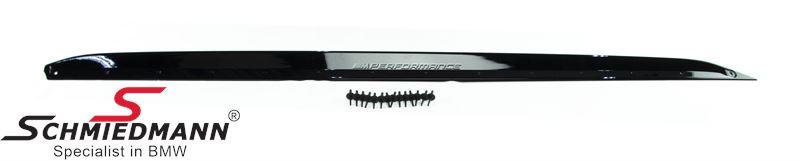 Seitenschweller-Erweiterung - M Performance Hochglänzend, für M-Technic oder aerodynamische Seitenschweller M- matt schwarz, R.-Seite