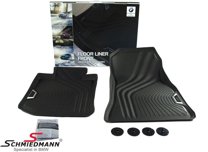 """Fussmatten vorne """"Floor Liner"""", schwarz - original BMW"""