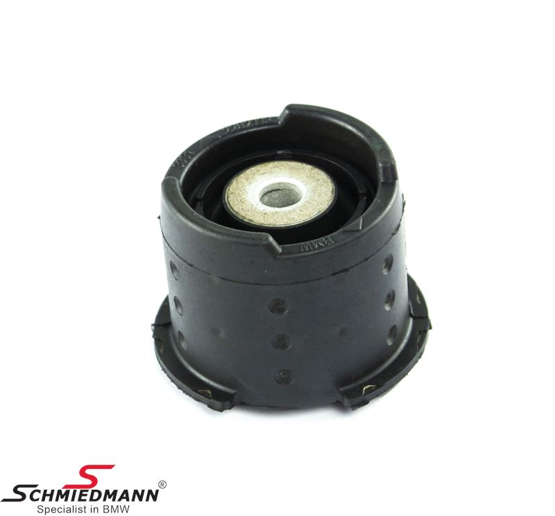 Outer rubber mounting front vertical on rear axle L.-side