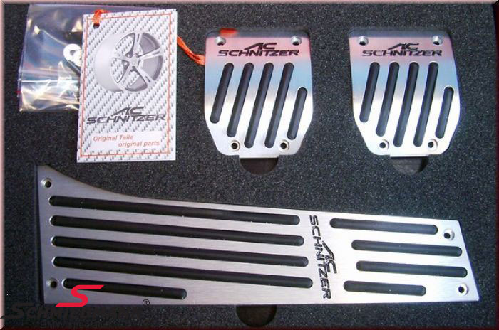 Alu pedal sæt original AC Schnitzer