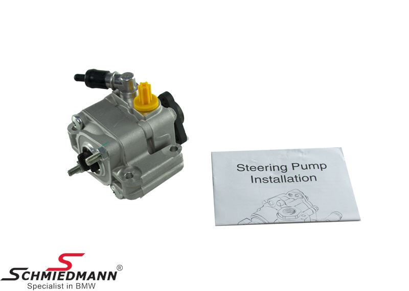 Powersteering exchange pump