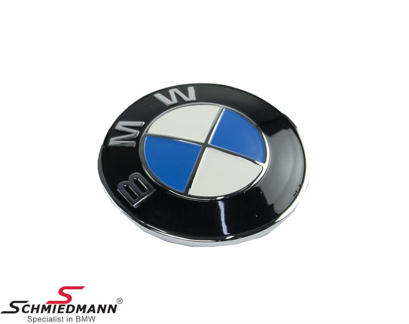 Emblem trunk lid BMW