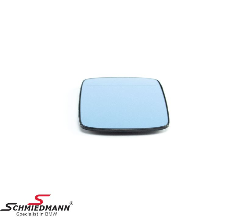 Mirror glass wide angle with heating L.-side