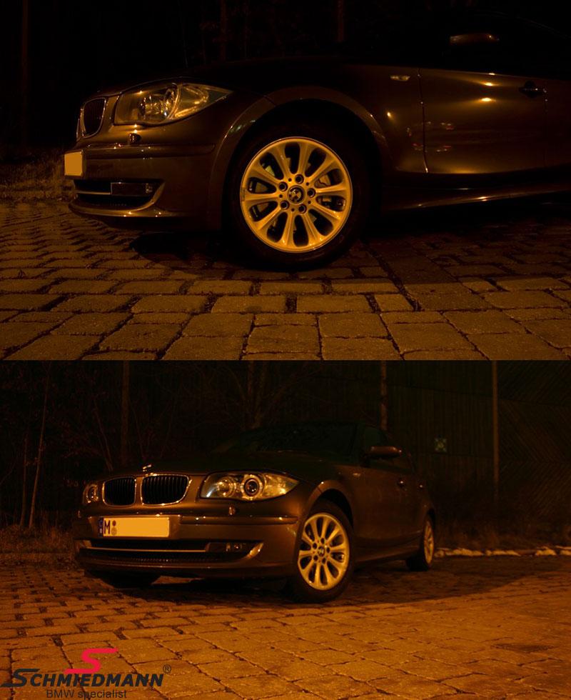 """16"""" Radialspeiche 139 Original BMW Rims With 195/55HR16"""
