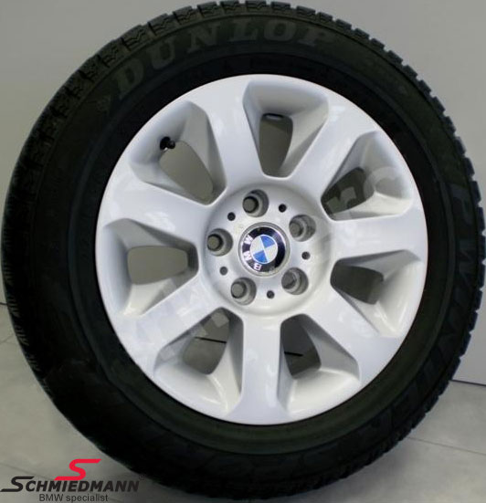 "16"" Sternspeiche 115 original BMW rims with 225/55HR16 Dunlop winter tyres"