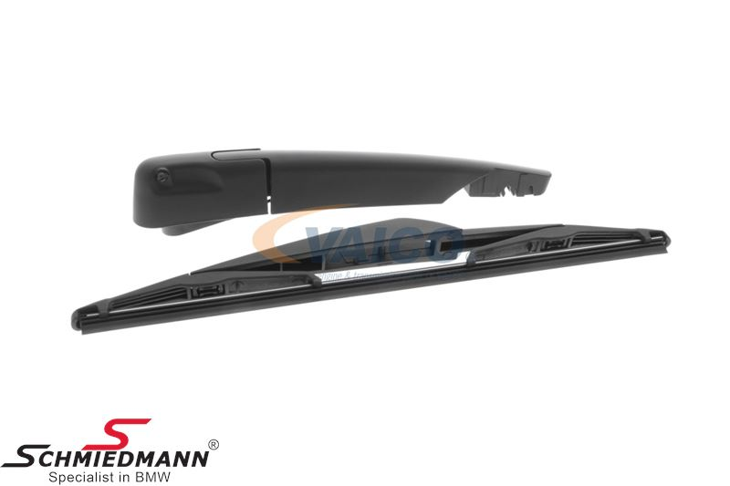 Wiperarm set for rear window (Including arm, cover and wiper blade)