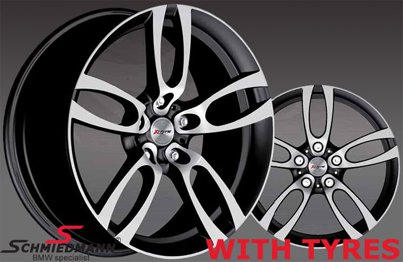 "18"" -Black Edition- 8X18 rims with 245/40/18"