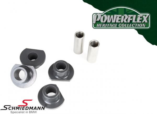 Powerflex racing -Heritage Collection- front arm (wishbone) outer bush set (Pos. 2 on diagram)