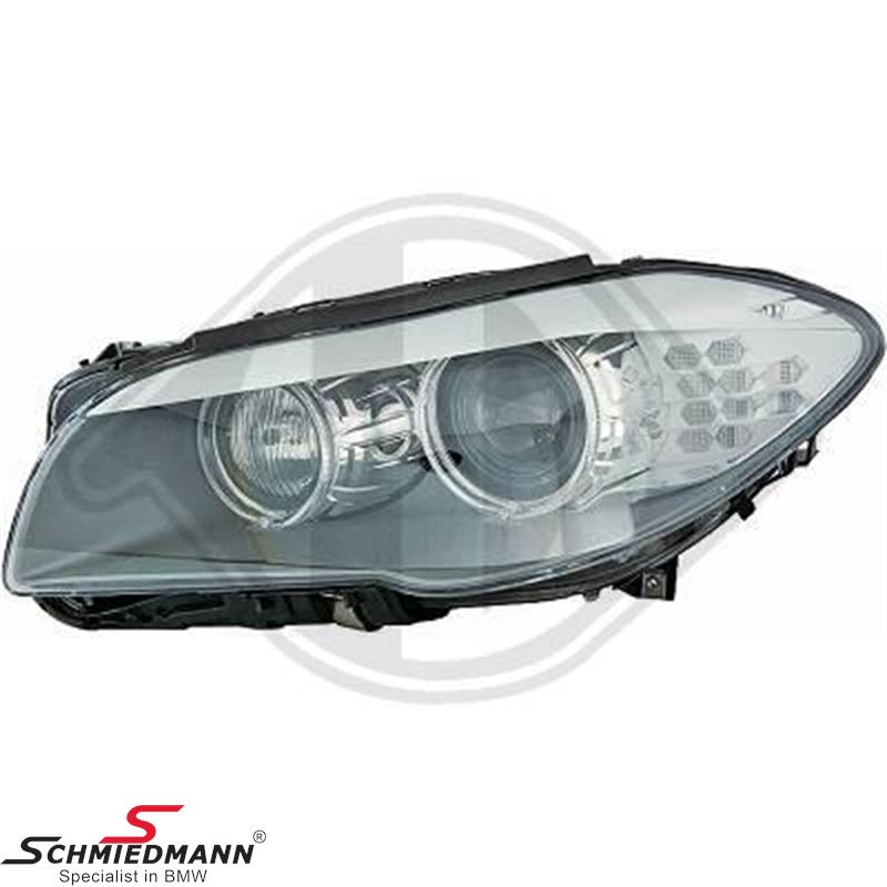 Headlight D1S Bi-xenon L.-side with adaptive light