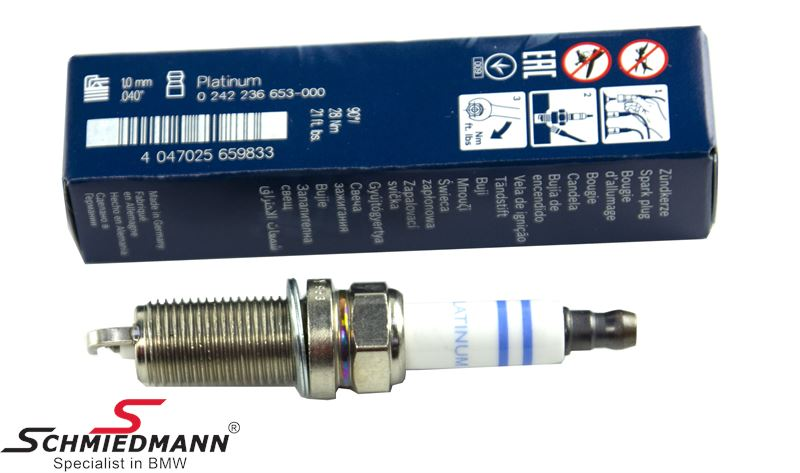 Sparkplug High Power Bosch FR7SPP302U - original Bosch Germany