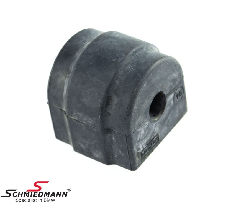 Stabilizor bush rear 16MM (For models with standard suspension)