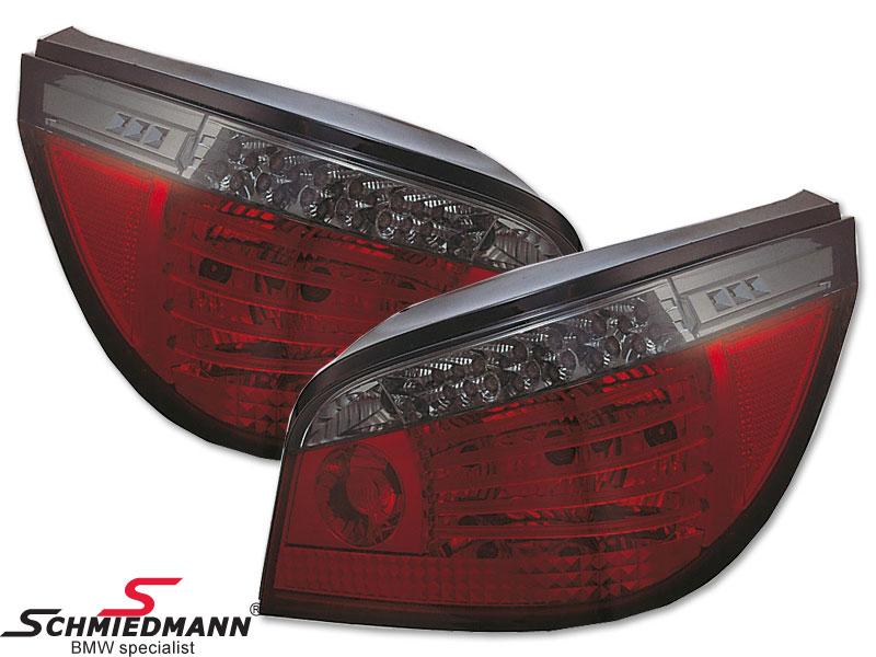 Baglygter facelift rød/sorte -Blackline- LED-teknik også i blinket