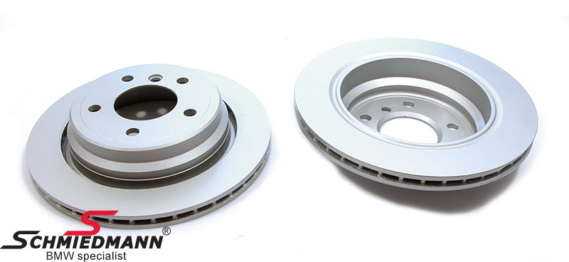 Brake discs rear ventilated 298X20MM, coated version