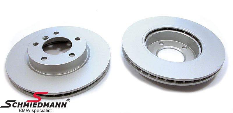 Brake disk front 286X22MM - ventilated