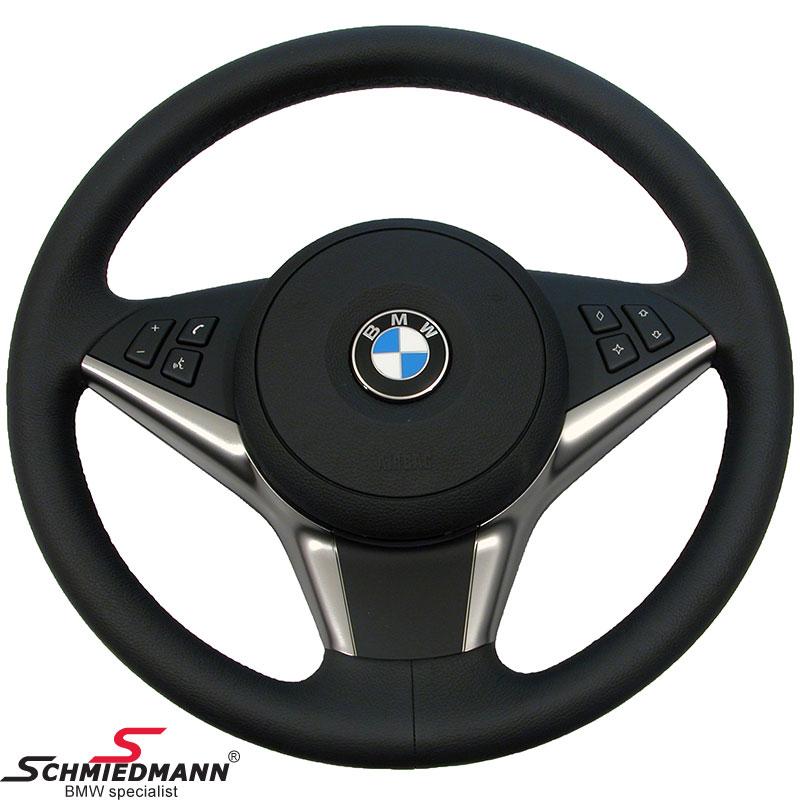 Sportsrat Ruthenium læder airbag Ø379mm, inklusiv airbag