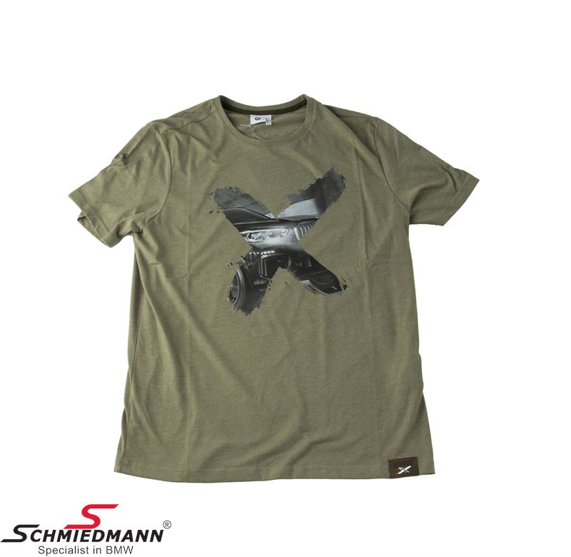 T-shirt -BMW X- brown, men´s size S