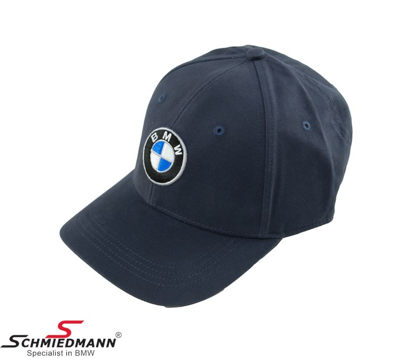 BMW cap with logo, dark blue size M-L
