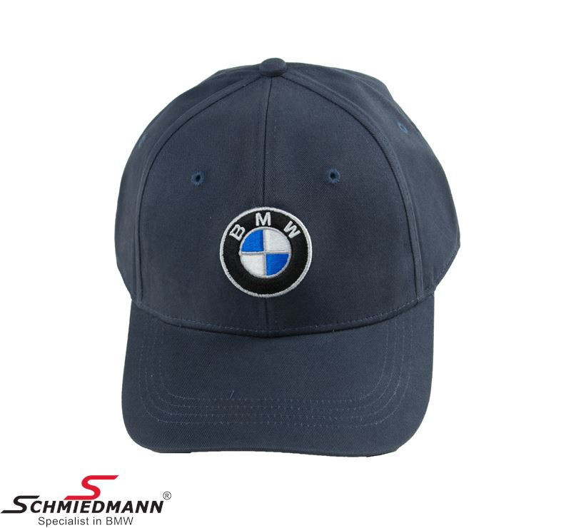 BMW cap with logo, dark blue size XS-S
