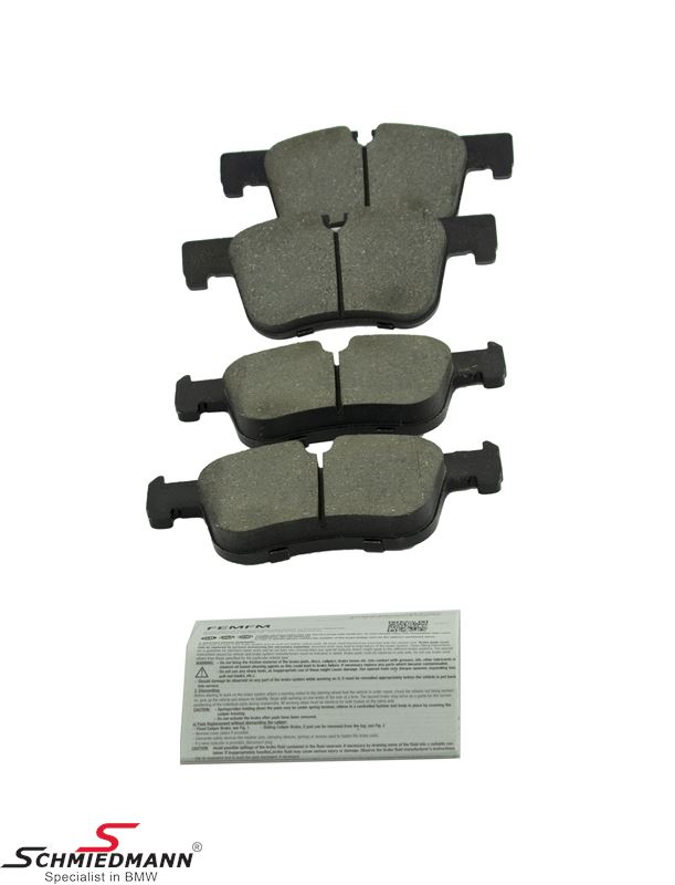 Brake pads front - original Bosch Germany
