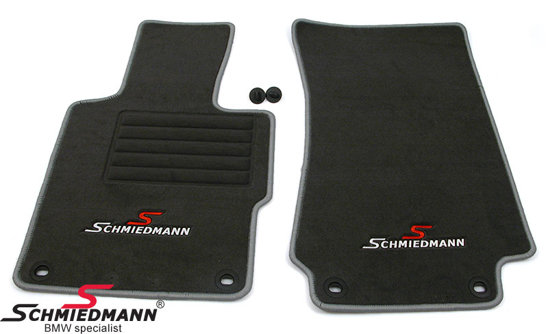 Bunnmatter foran/bak original Schmiedmann sport edition grå