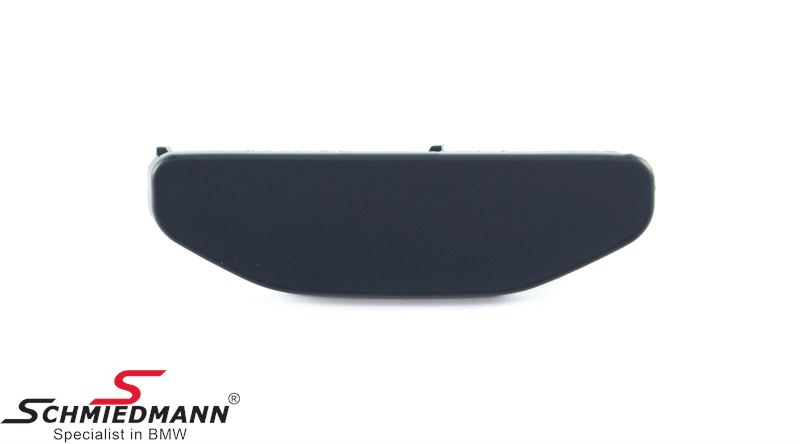Cover for telescopic nozzle for headlight cleaning system primed, fits L.-side