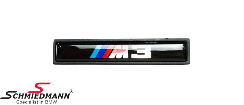 "Emblem """"M3"""" for M-Technic side mouldings"