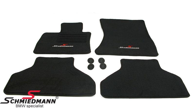 Lattiamatot eteen/taakse Schmiedmann alkuperäiset sport edition Black