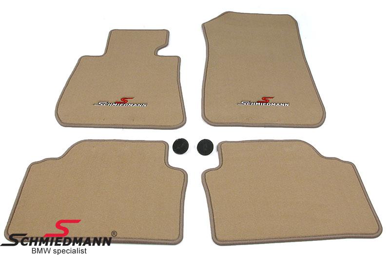 Schmiedmann -Sport edition- kangasmattosarja, eteen ja taakse, beige