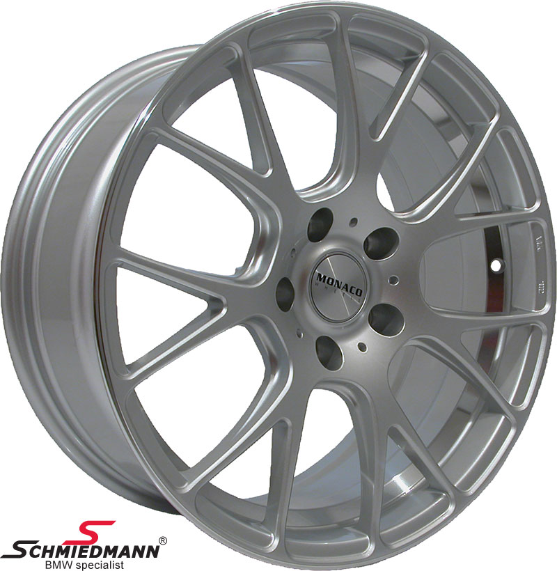 "18"" -Competition- hyper silver Felge 8X18"
