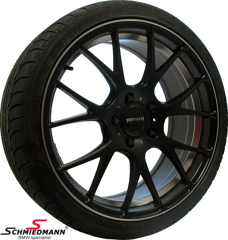 "19"" -Competition- deep black mit 235/35/19"