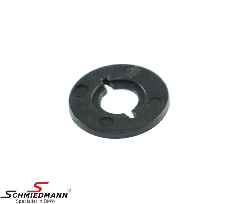 Washer for engine undercarriage cover