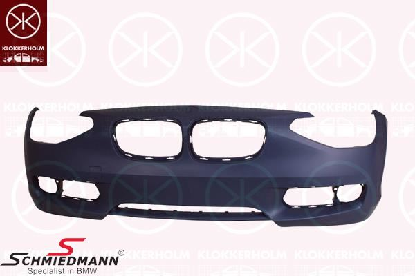 Frontbumper shell standard (For models with PDC and headlight washer)