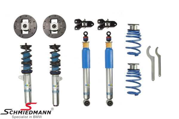 Complete -Bilstein B16 Clubsport®- suspension kit adjustable in hardness and height 30-40/20-30MM