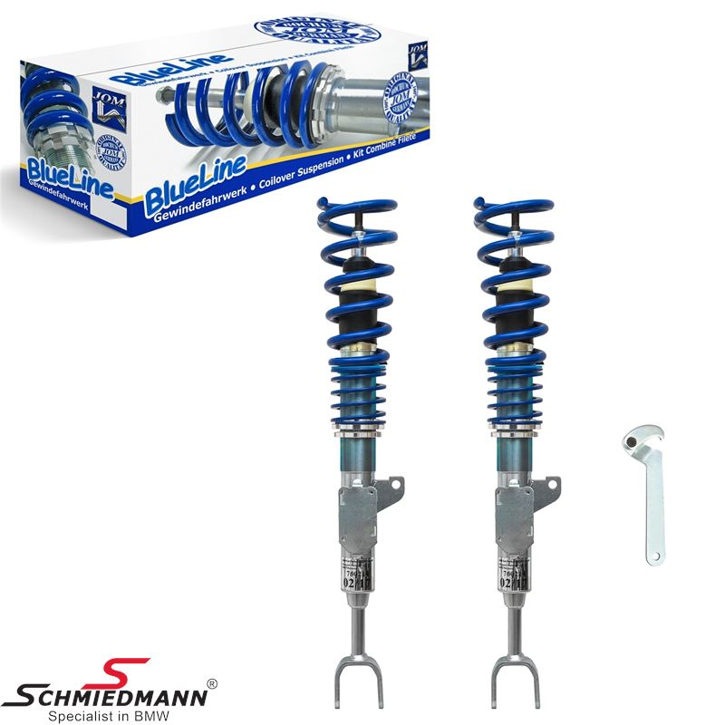 Coilover kit -Low budget- height adjustable 25-55MM front only (For models without EDC)