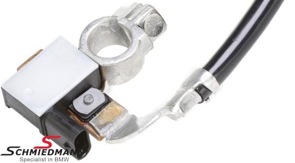 61127616199H 61127616199 61 12 7 616 199 7616199  Batteri cable - negative with intelligent battery sensor (IBS) - original Hella Germany