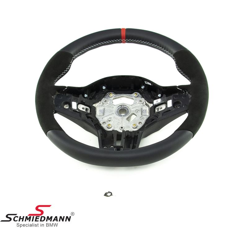 Sport steering wheel - original BMW ///M-performance (Airbag not included) (For models with sport-automatic transmission)
