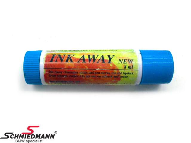 Fläckbortagare till läder -Ink Away- sticka